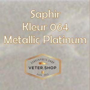 Saphir 064 metallic platina
