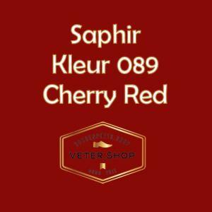 Saphir 089 Kersen rood
