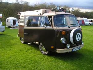 Der Blitz. VW Transporter 1973 mod