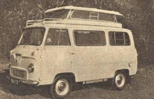 Airborne 1961 basert på Ford Thames. BL
