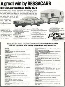 Bessacar annonse fra 1973.BL