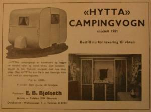 Bjølseth annonse fra 1961.BL