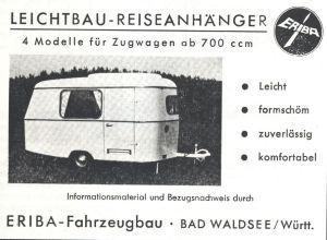 En Eriba annonse fra 1961. BL