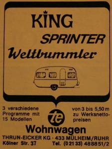 En TE annonse fra 1968.BL