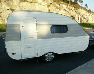 Erik Hansen:Har kjøpt den☺.Qek Aero campingvogn fra 1988.