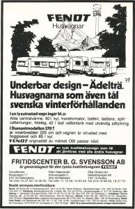 Fendt annonse fra 1978. BL