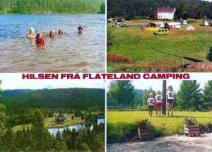 Flateland camping. Froland
