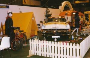 Fra standen til Campingveteranerna på messen på Elmia en gang på 1990-tallet. BL