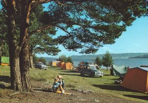 Hamar Campingplass. 1968