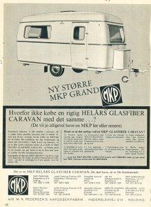 MKP annonse fra 1968. BL