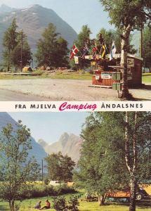 Mjelva Camping, slutten av 60-tallet