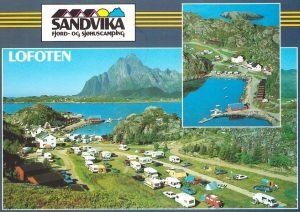 Sandvika Fjord- og Sjøhuscamping.