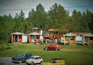 Skurdalen camping. 60-tallet