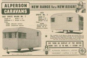 Sprite annonse fra høsten 1952. BL
