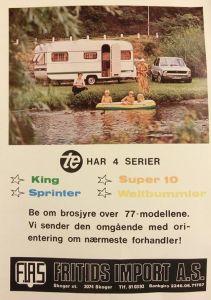 TE annonse fra 1977 BL