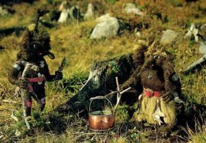 Troll på camping