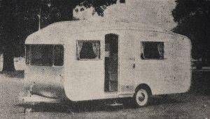 Utklipp av Car Cruiser clubman 300 fra 1958. BL