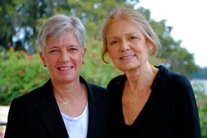 Gloria Steinem & Carol Bresnahan