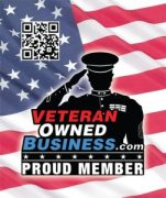 "Vetrean Owned Business ""Proud Member"" Sticker"