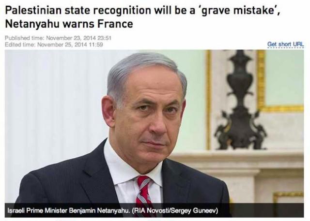 Netanyahu warns France