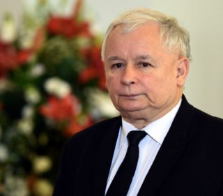 Former Polish PM and ruling party chair Jaroslaw Kaczynski