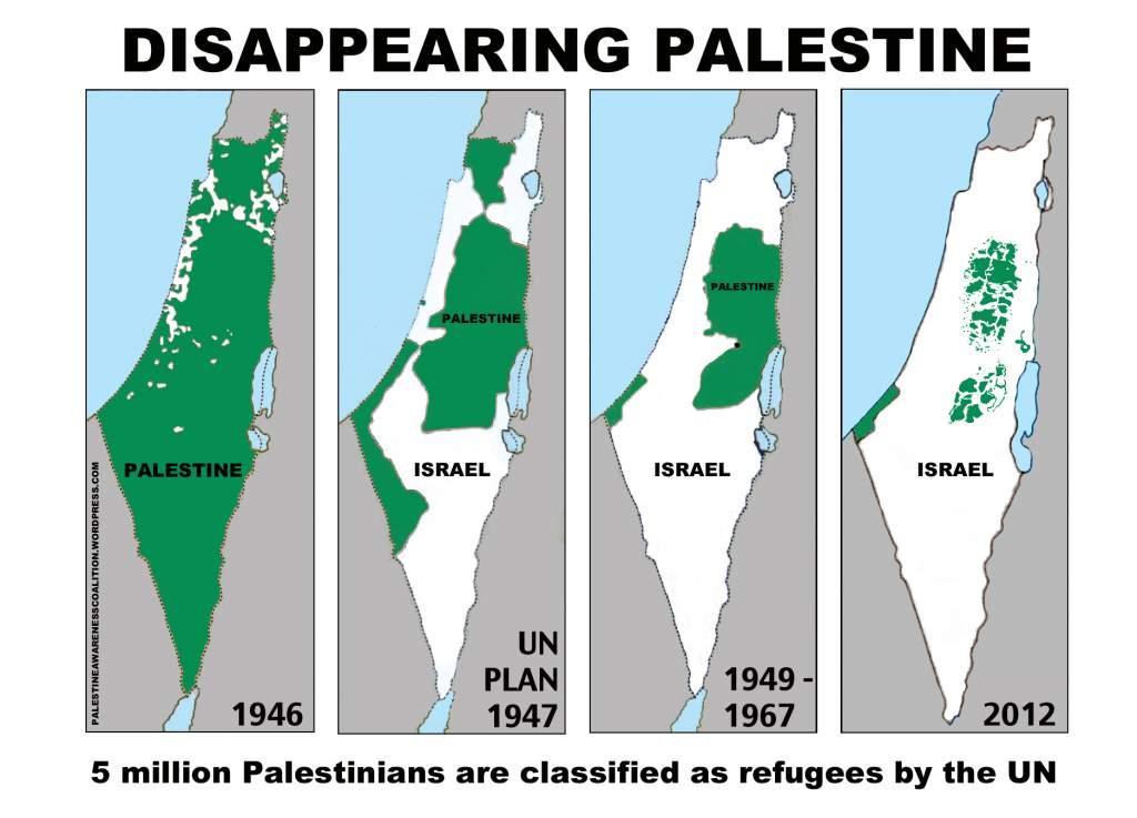 Google, al igual que el resto de la máquina genocidio sionista, Palestina está haciendo desaparecer