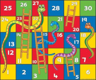 Frisk snakes and ladders