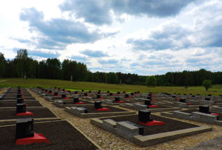 Cemetary of villages burned by the Nazis