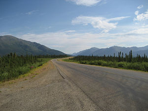 The 11 or Dalton Highway Alaska