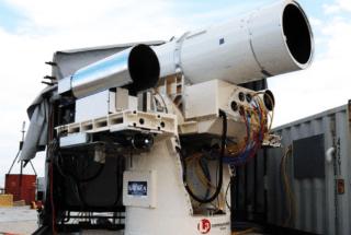Marina de los EE.UU. arma láser a bordo