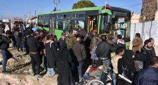 Los yihadistas Alepo pierden sus escudos humanos, a pesar de los mejores esfuerzos de los EE.UU.