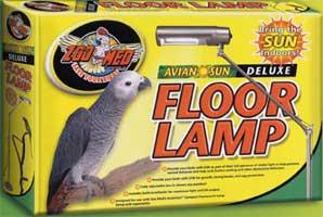 Lampara solar para aves