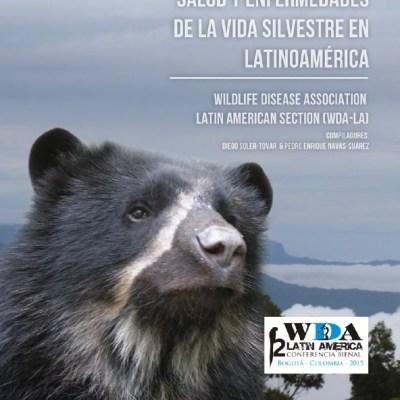 Portada del Libro Salud y Enfermedades de la Vida Silvestre en Latinoamérica