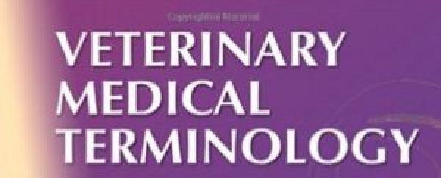 Veterinary Medical Terminologies