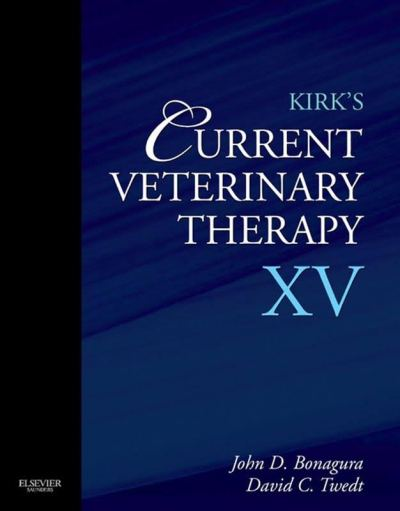 Kirks Current Veterinary Therapy XV 1st Edition PDF