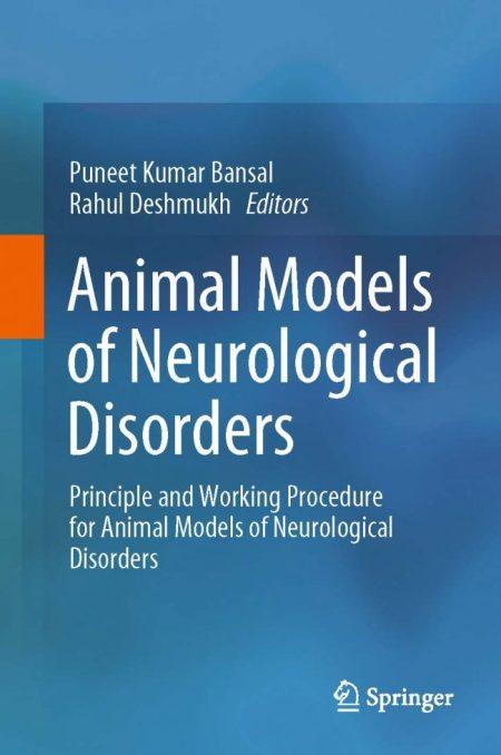 Animal Models of Neurological Disorders PDF