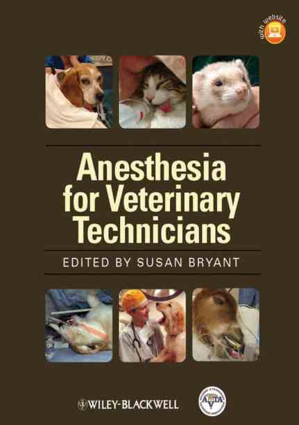 Anesthesia For Veterinary Technicians PDF