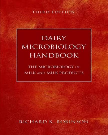 Dairy Microbiology Handbook, 3rd Edition