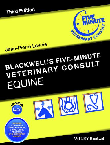 Blackwell's Five Minute Veterinary Consult Equine, 3e (2019)