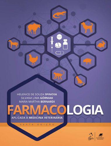 Farmacologia Aplicada à Medicina Veterinária 6ª Edição