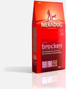 Premium dog food  Meradog brocken Price in Pakistan