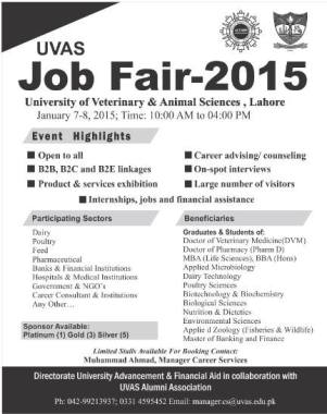 UVAS Job Fair 2015
