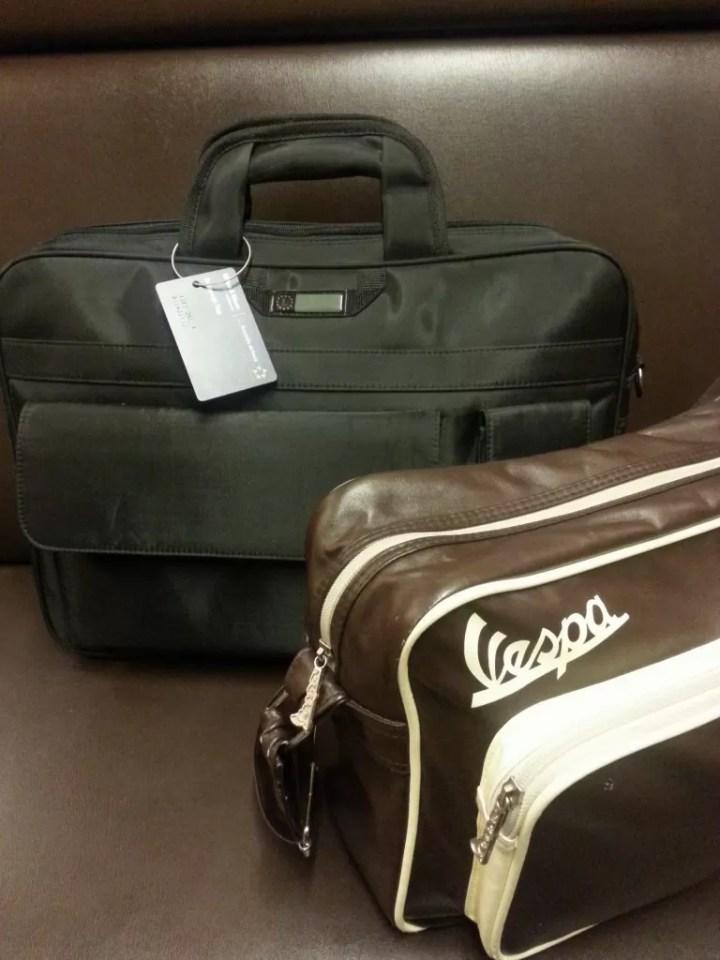 Met enkel wat handbagage de trein op..!