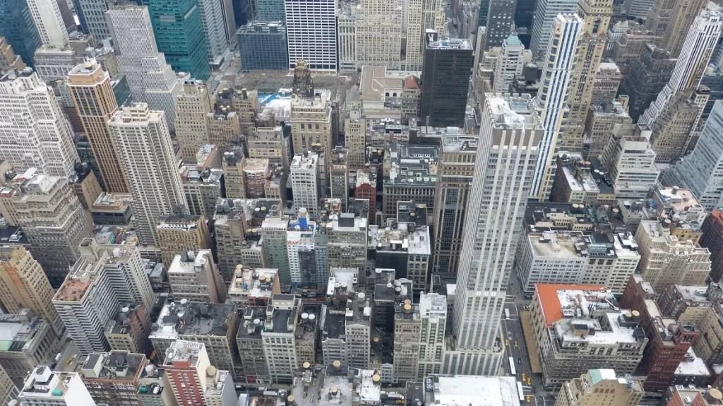 top of the rock eerste dag in new york
