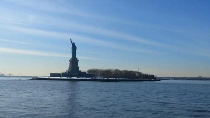 van jfk naar manhattan vrijheidsbeeld new york planning