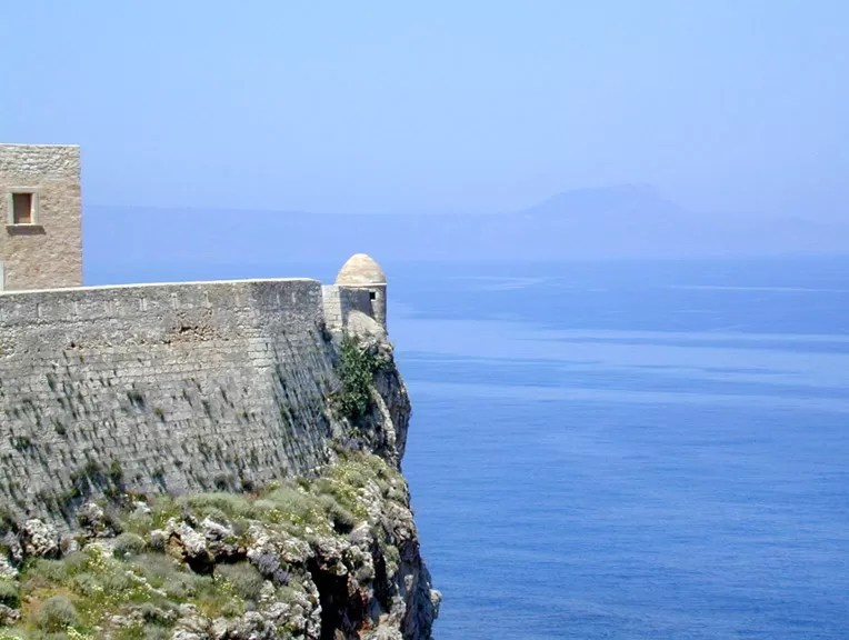 rethimnon in kreta fort