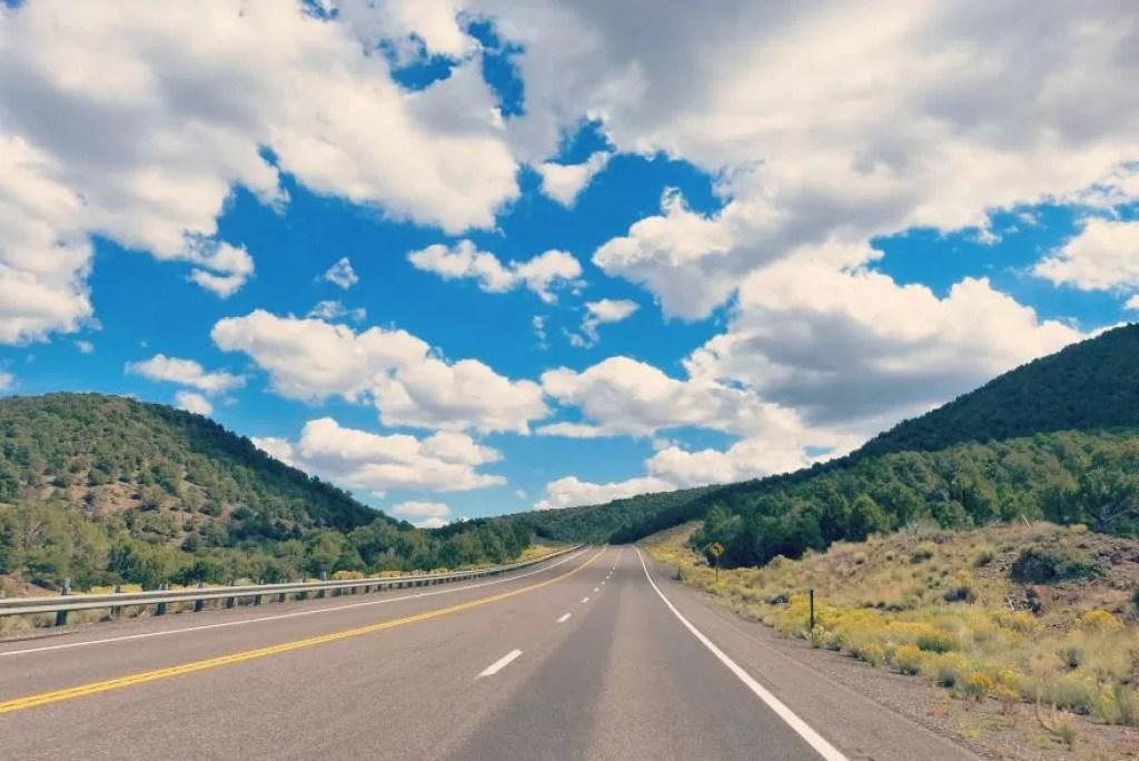 Zo zag onze route eruit tijdens roadtrip doorheen zuidwest USA
