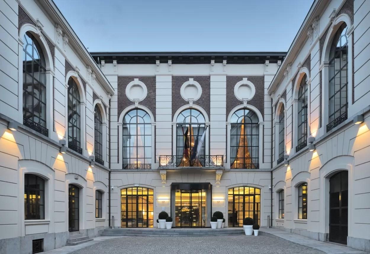 Hotspot: Crowne Plaza Hotel in Luik