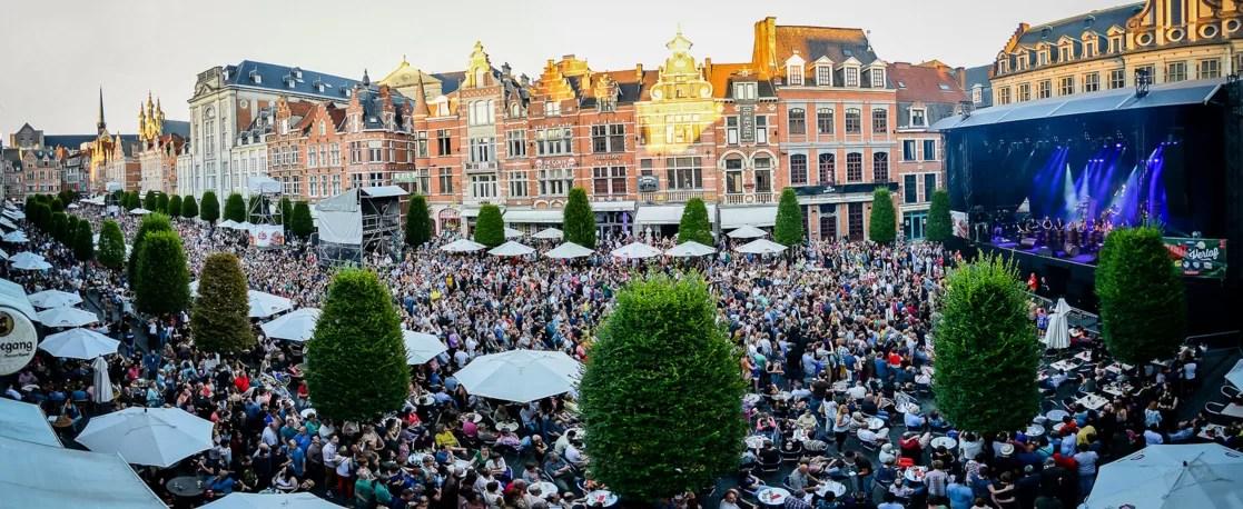 Oude markt cafés in Leuven