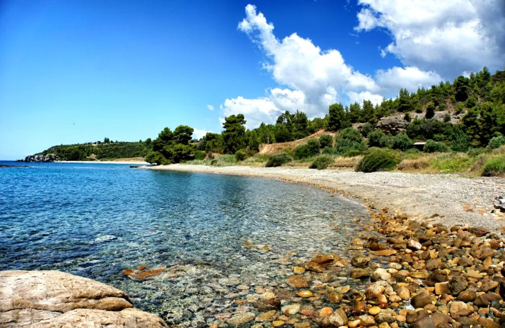Chalkidiki strand